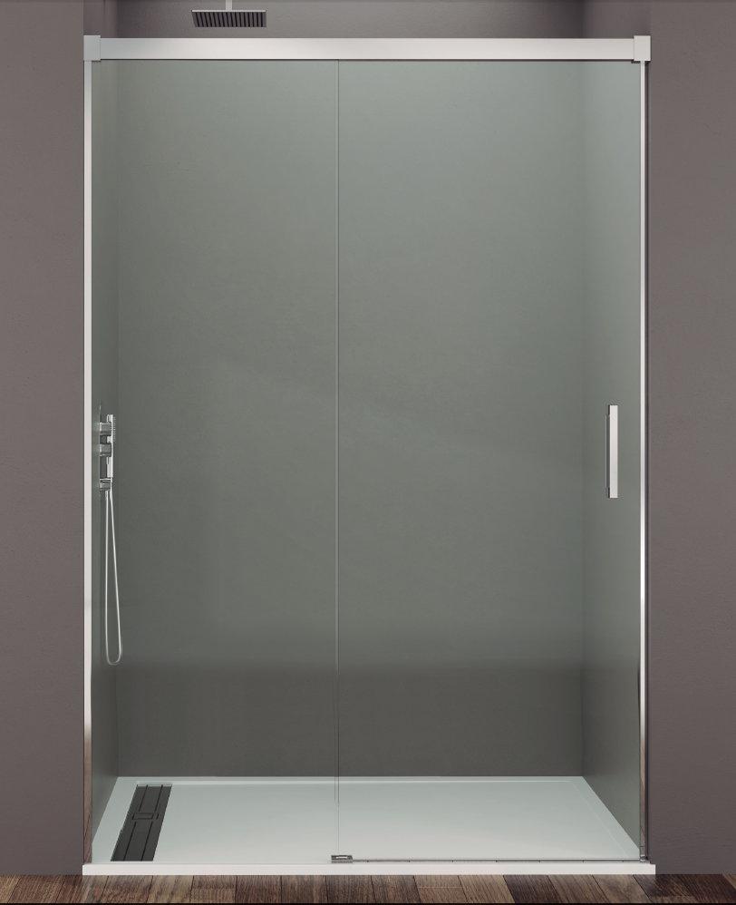 Mamparas ducha gme basic 1 fijo y 1 corredera - Instalar una mampara de ducha ...